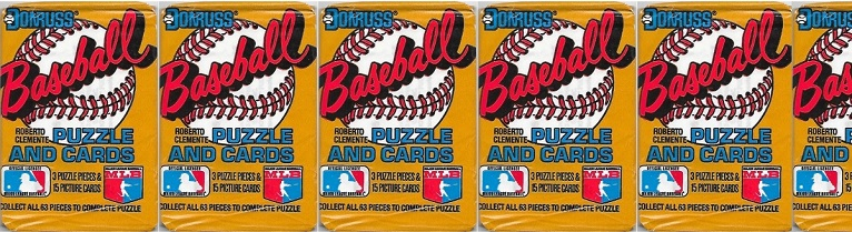 The Eternal Spring of 1987 Donruss Wax Packs