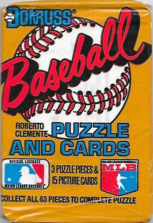 1987 Donruss wax pack