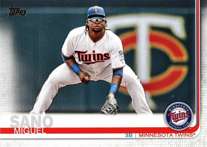 2019 Topps Miguel Sano