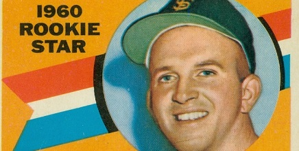 1960 Topps Al Stieglitz Fiddled with the Natural Order of Things