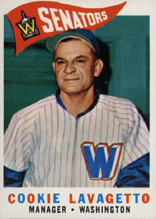1960 Topps Cookie Lavagetto