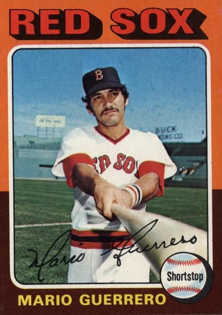1975 Topps Mario Guerrero