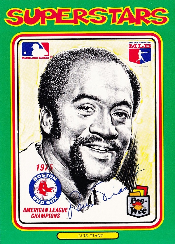 1976 linnett superstars luis tiant