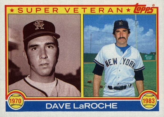 1983 Topps Super Veteran Dave LaRoche