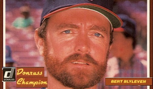1984 Donruss Champions Bert Blyleven Saw the Future