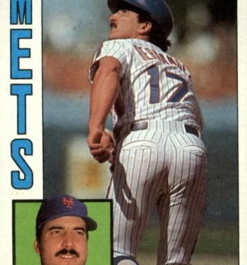 This 1984 Topps Keith Hernandez Was 'Super' Hard to Resist