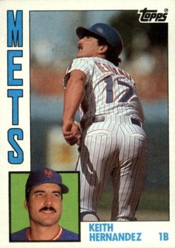 1984 Topps Super Keith Hernandez