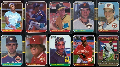 1987 Donruss Baseball Cards Which Ones Are Most Valuable