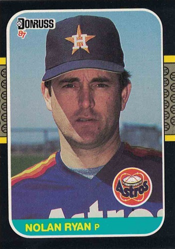 1987 donruss nolan ryan