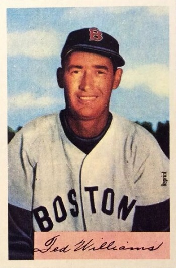 1954 Bowman Ted Williams