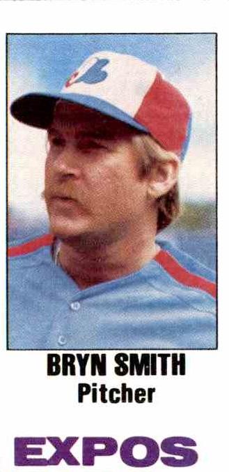 1982 Topps Bryn  Smith