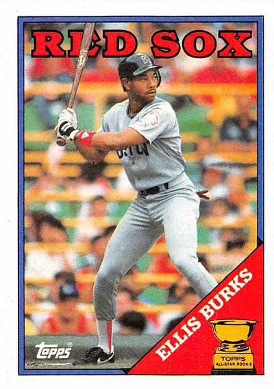 1988 Topps Ellis Burks