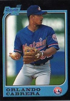 1997 Bowman Orlando Cabrera