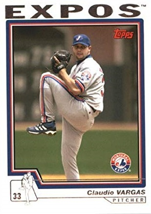 2004 Topps Claudio Vargas