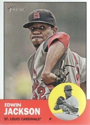 2012 topps heritage edwin jackson