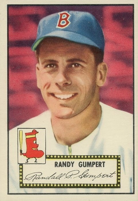 1952 Topps Randy Gumpert