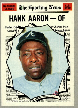 1970 Topps Hank Aaron All-Star (#462)