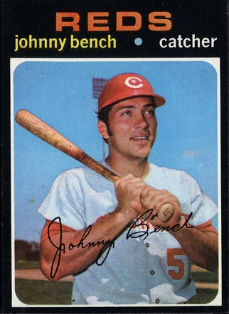 1971 Topps Johnny  Bench