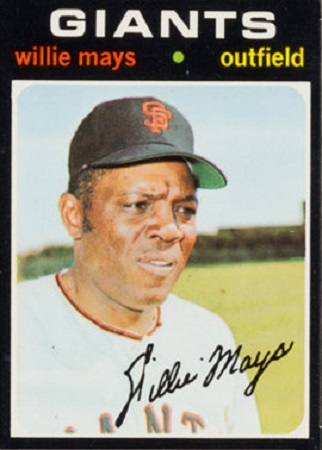 1971 Topps Willie  Mays