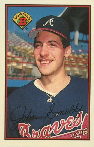 1989 Bowman John Smoltz (#266)