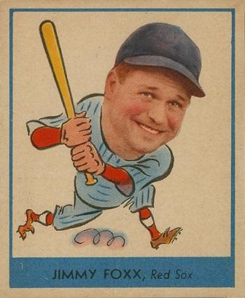 1938 Goudey Jimmie  Foxx
