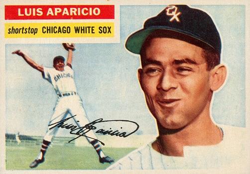 1956 Topps Luis Aparacio Rookie Card