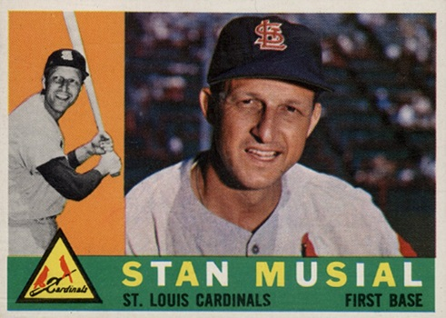 1960 Topps Stan Musial