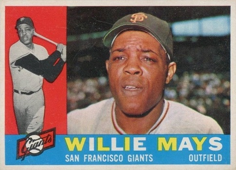 1960 Topps Willie Mays