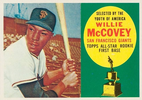 1960 Topps Willie McCovey Rookie Card