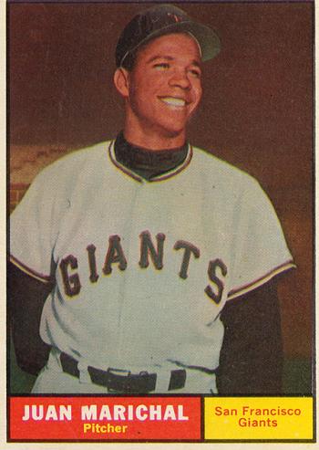 1961 Topps Juan Marichal Rookie Card