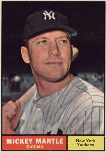 1961 Topps Mickey Mantle