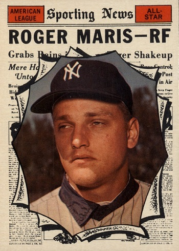 1961 Topps Roger Maris All Star