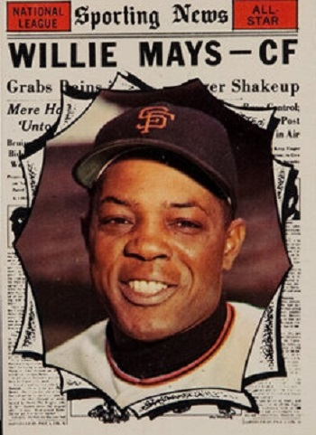 1961 Topps Willie Mays All Star