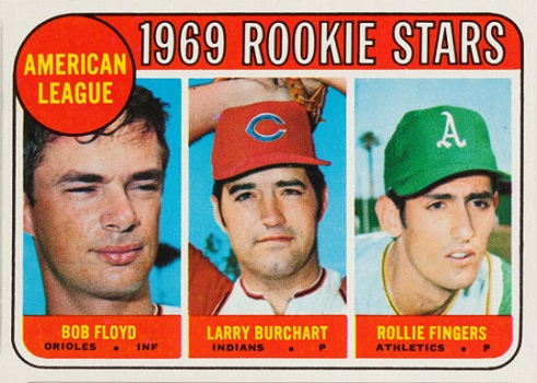 1969 Topps Rollie Fingers Rookie Card
