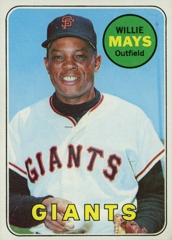1969 Topps Willie Mays
