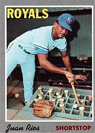 1970 Topps Juan Rios