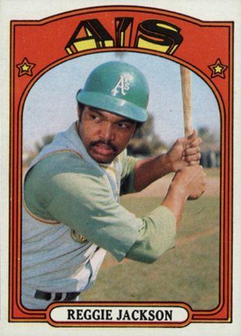 1972 Topps Reggie Jackson