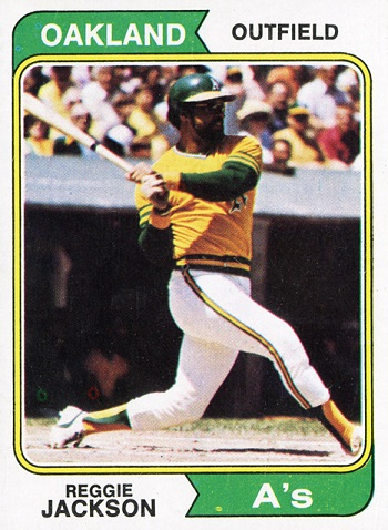 1974 Topps Reggie Jackson