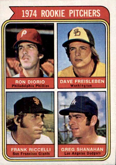 1974 Topps Ron Diorio washington