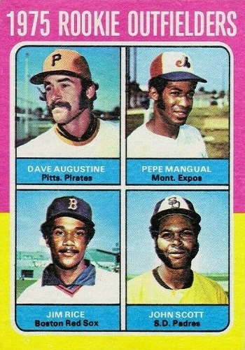 1975 Topps Jim Rice Rookie Card
