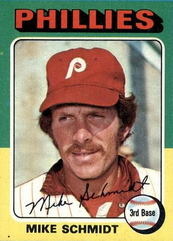 1975 Topps Mike Schmidt