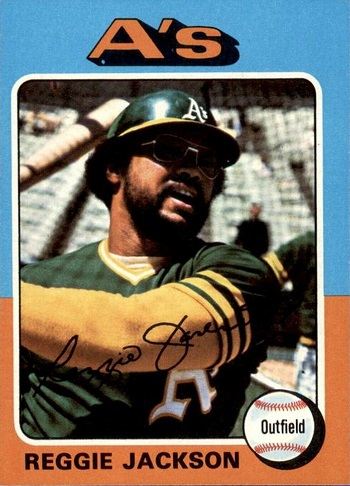 1975 Topps Reggie Jackson
