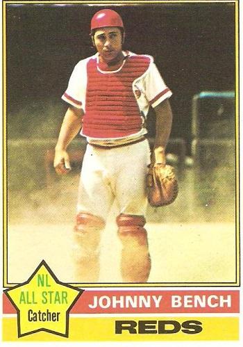1976 Topps Johnny Bench