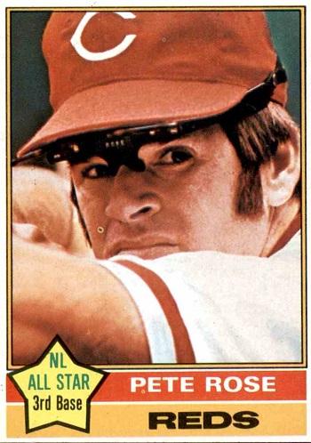 1976 Topps Pete Rose