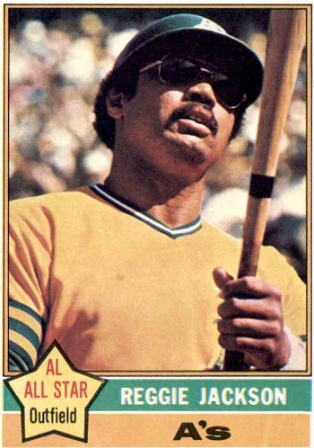 1976 Topps Reggie  Jackson
