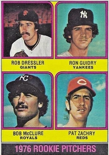 1976 Topps Ron  Guidry