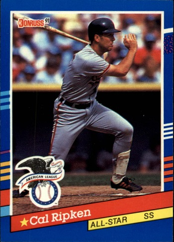 1991 Donruss Cal Ripken all-star
