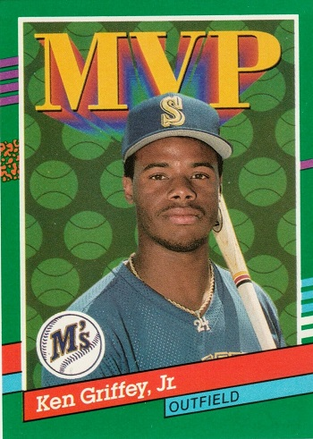 1991 Donruss Ken Griffey Jr mvp