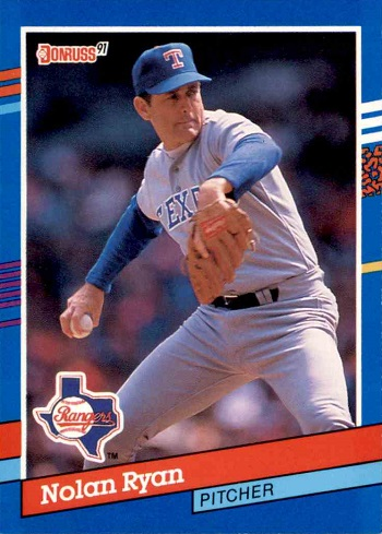 1991 Donruss Nolan Ryan