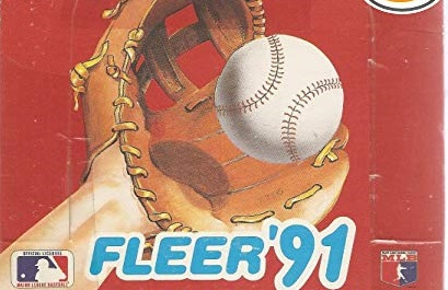 10 Most Valuable 1991 Fleer Baseball Cards Wax Pack Gods